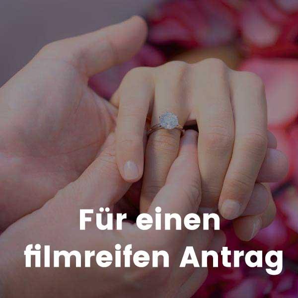 Für einen filmreifen Antrag
