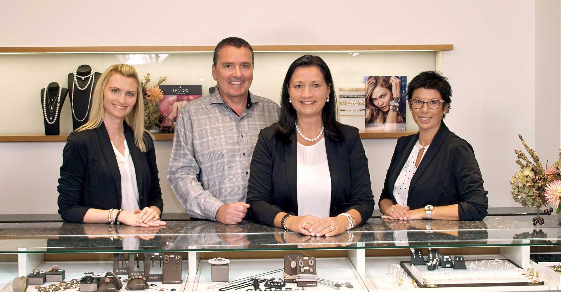 Unser Team bei Juwelier Grätzer
